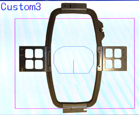 maps for embroidery machine hoops